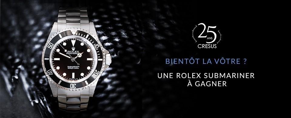 c9d6ac7b37 Gagnez une Rolex Submariner - Montres de luxe et bijoux d'occasion ...