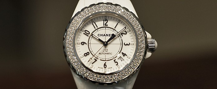 Montre d'occasion Chanel J12 Cresus