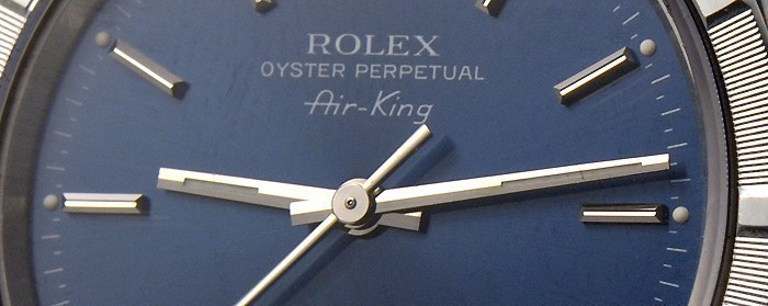 Montre Rolex Air king Occasion