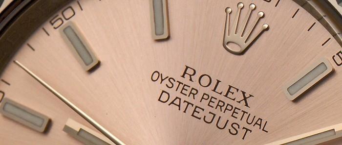 Rolex Datejust occasion cresus