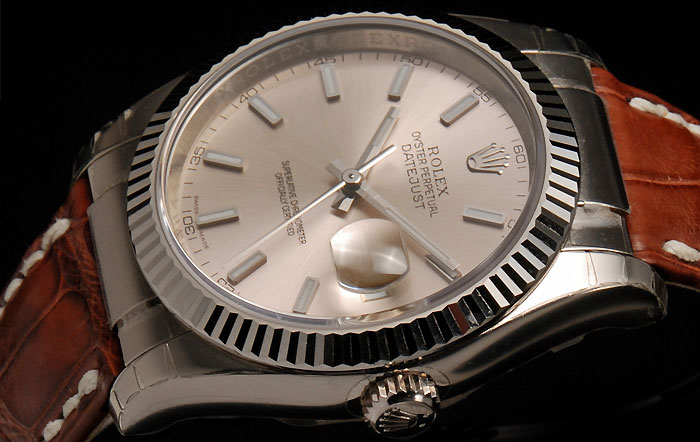 6ba6bead9892c Montre Rolex Oyster Perpetual Datejust d occasion - Rolex Oyster ...